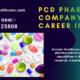 PCD PHARMA COMPANY AS A CAREER IN INDIA