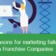 Top reasons for marketing failure of Pharma Franchise Companies
